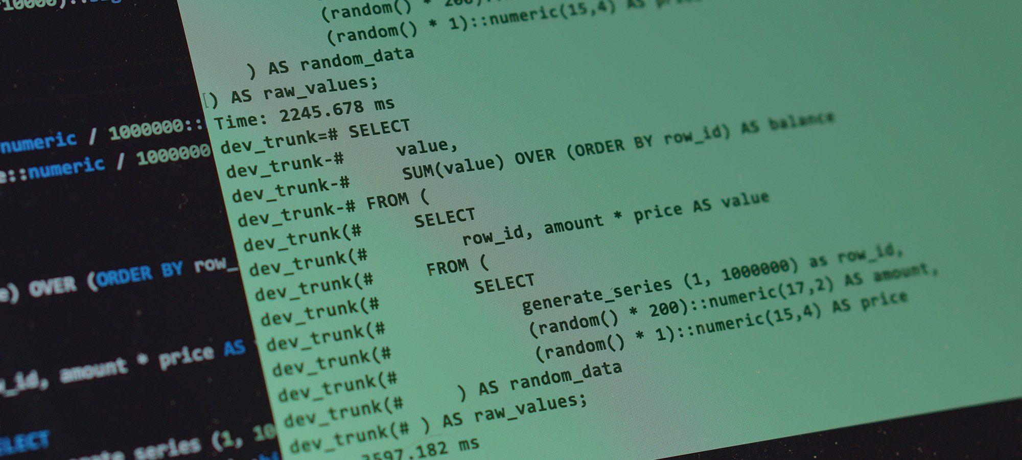 PostgreSQL 9.6